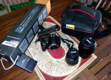 كاميرا نيكون  3200نظيفه جدا استخدام مره واحده فقط