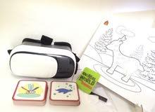 نظارة VR 3D منتج تعليمي حديث للأطفال