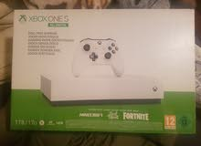 xbox one S ALL DIGITAL  1TB --->Fortnite ,minecraft, sea of thieves