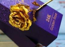 الوردة الذهبية للاهداء