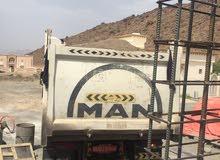 توجد لدينا شاحنه مان تييبر 18 متر جديد