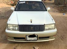 White Toyota Crown 1997 for sale