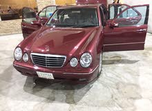 Mercedes Benz E 320 2000 For sale - Maroon color