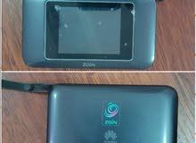 Touch Screen Zain Portable Router.
