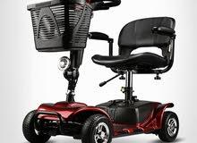 كرسي متحرك الكتروني لكبار السن للتنزه والتسوق