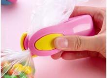 . الة تغليف الاكياس البلاستيك  ( اصغر الة تغليف )