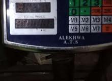 ميزان كهرباء وزن 150 كيلو حالة ممتازة شحن وكهرباء