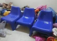 عدد 3كرسي استرخاء من ايكيا