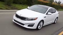 Gasoline Fuel/Power car for rent - Kia Optima 2016