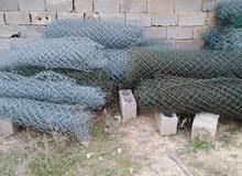 شبكة حديد مغلف