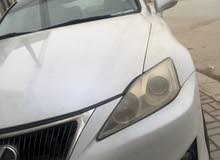 Lexus IS car for sale 2008 in Al Masn'a city