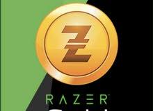 بطاقات ريزر جولد امريكي (RAZER GOLD USD)