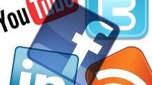 انشاء صفحات التواصل الاجتماعي فيس تويتر انستقرام والإشراف عليها 24 x24