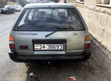 Manual Grey Toyota 1989 for sale