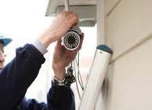 تركيب كاميرات مراقبة واجهزة البصمه والانذار