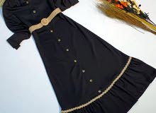 فستان تركي طويل