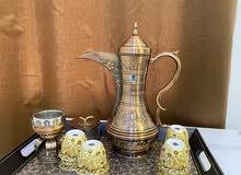 دلة شاهي او قهوة اصلي استعمال مرة واحدة