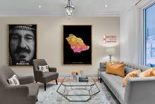 » لوحات جدارية كانفس - لوحة جدارية