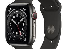apple watch 6 44 graphite stainless steel gps