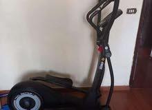 مكنتان رياضة للبيع tredmel eleptical fitness brand 400$$
