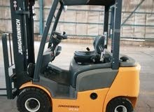 Jungheinrich Diesel Forklift 2 ton with side shift