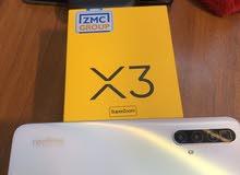 ريلمي x3 مستخدم سبوع فقط ذاكره 256