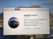 "MacBook Pro 2019 Touch Bar 13"" inch i5 2.4ghz 8GB 512GB"