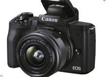 Canon EOS M50 Mark ii  جديده بكامل ملحقاتها