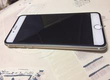 ايفون 6 plas 128GB ( الشاشه و التتش شغال 100%) ضربه خفيفه لا تأثر