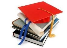 عمل بحوث التخرج وبحوث دراسية باللغه الانكليزية