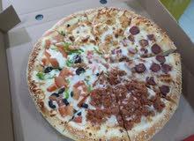 معلم بيتزا وفطائر سوري