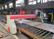 مكنة قص الحديد بالبلازما CNC
