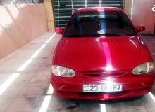 Kia Sephia 2001 For Rent - Red color