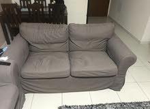 ikea (2 sofa+1 chair)