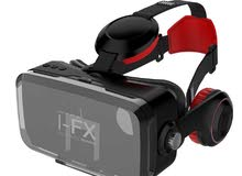 Bluetooth Virtual Reality VR Headset With Wireless Headphones