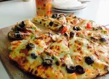 مطلوب اسطي بيتزا ومعجنات