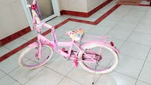 Girls Pink Princess bicycle for Sale. Suitable for age 6-10 years. - Salmiya
