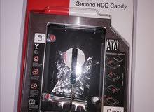 Second Hard Drive Caddy  حاملة هارديسك إضافية لأجهزة اللابتوب