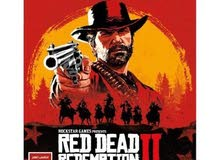 لعبة بلايستيشن 4 RED DEAD REDEMPTION II