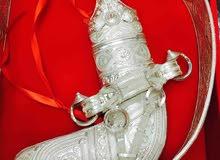 خنجر سعيدية عمانية فضة ثقيلة وأصلية مضمونة 100%
