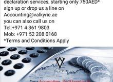 VAT registration,VAT Returns,ESR report,accounting and Bookkeeping.