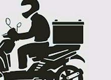 مطلوب سائقين سيكل لشركة مطاعم شرط تحويل اقامة