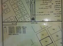 ارض سكنية بامتداد صلال شرق بولايه جعلان بني بوعلي