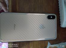 ايفون X Max للبيع ذاكره 256 شريحتين نسبه نضافته 98%