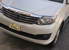 2013 Used Fortuner with Automatic transmission is available for sale