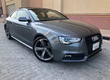 Audi A5 2015 For sale - Grey color
