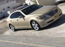 Lexus LS 2007 For sale - Gold color