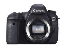 كاميرا canon 6d جديدة للبيع كاش فقط