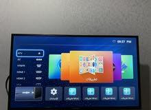 شاشة سمارن 40 بوصه نظام اندرويد تشغيل الجوال على التلفاز ويوجد ظمان اكسترا