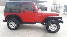 For sale 1999 Red Wrangler